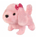 Simba Mascot Chi Chi Love Sweet puppy, for cable, pink, 17 cm
