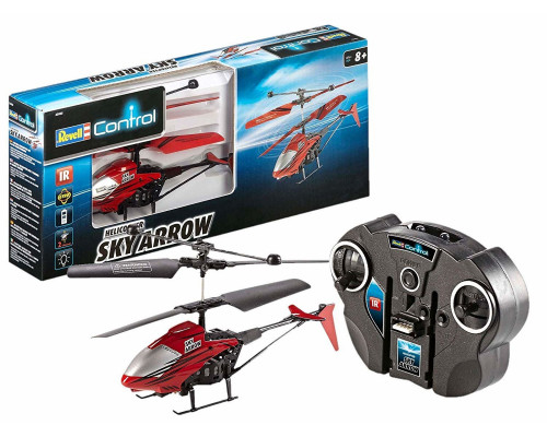 Revell Control Helicopter Sky Arrow Red