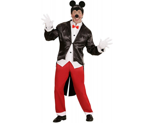 Widmann 05884 Mister Mouse Costume pour adulte Multicolore
